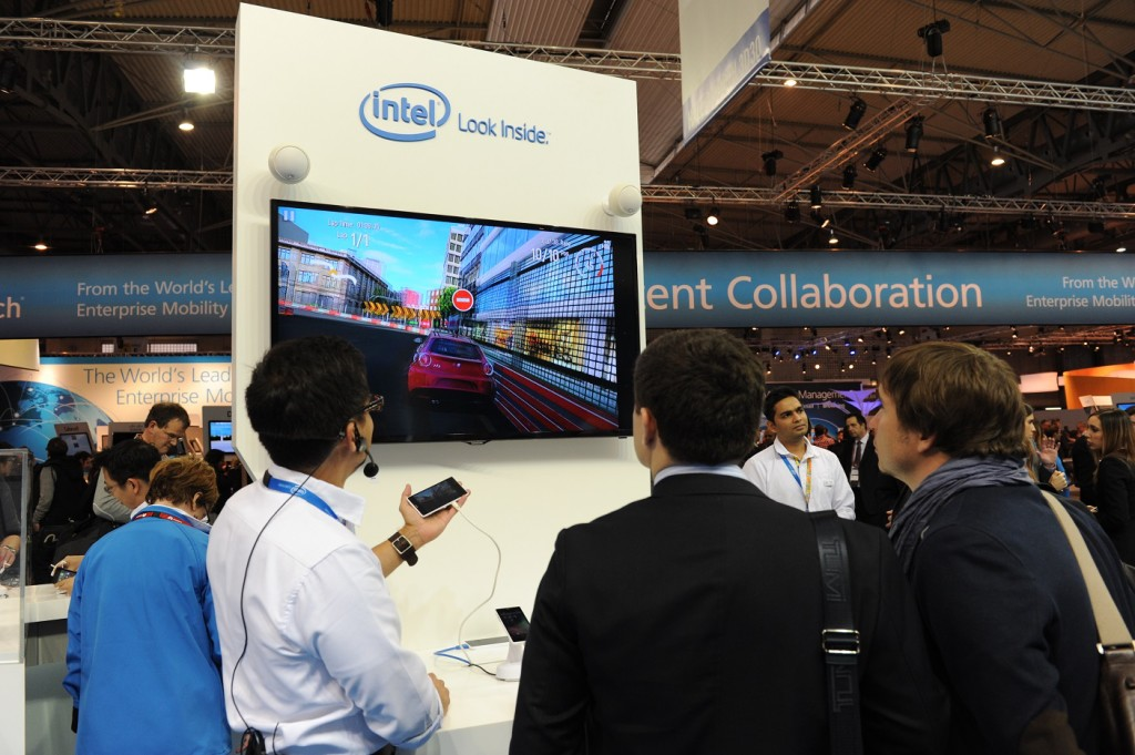 Intel at MWC - Barcelona, Spain