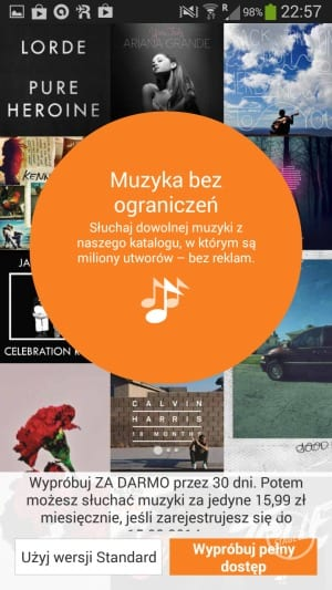 Muzyka Google Play (Google Play Music)