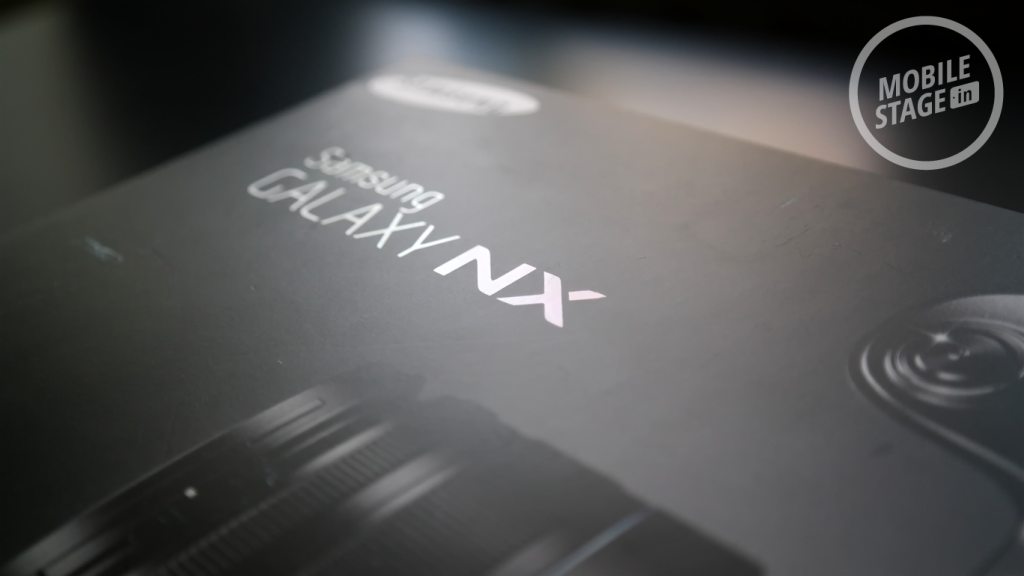 Samsung GALAXY NX - opakowanie