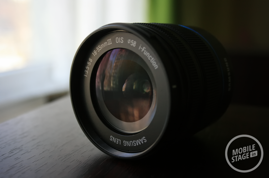 Samsung GALAXY NX - obiektyw 1