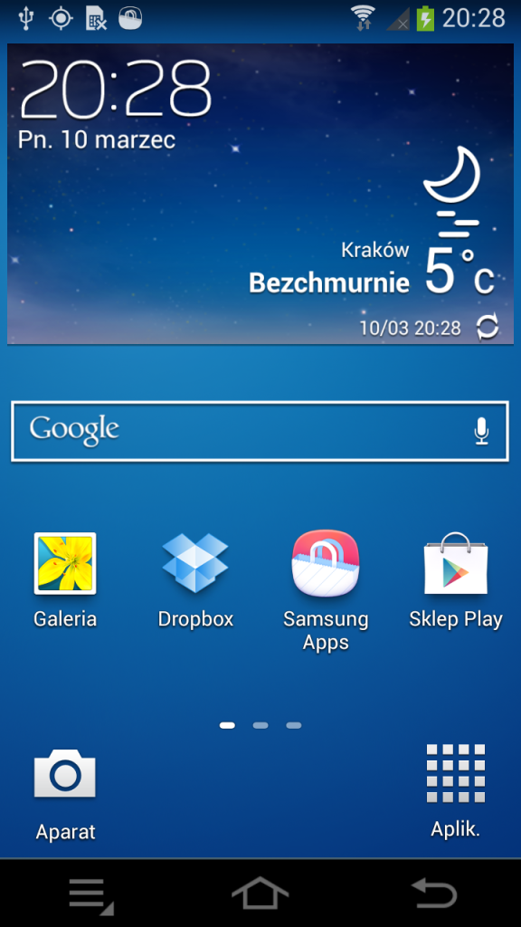 Samsung GALAXY NX - Android 1