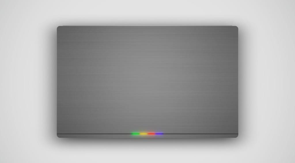 Chromebook Fusion zamknięty