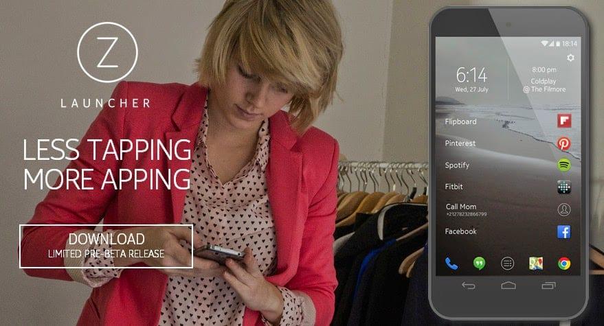 Download Nokia Z Launcher
